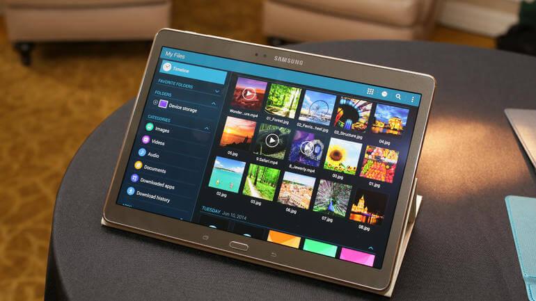 Samsung Galaxy TabS hoes en toetsenbord